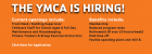 The YMCA is Hiring!