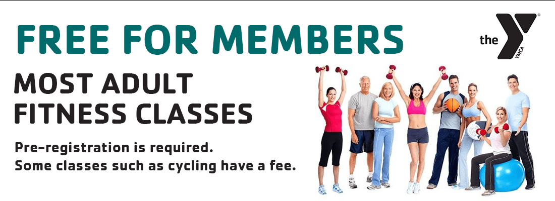 Most Adult Classes free for Members