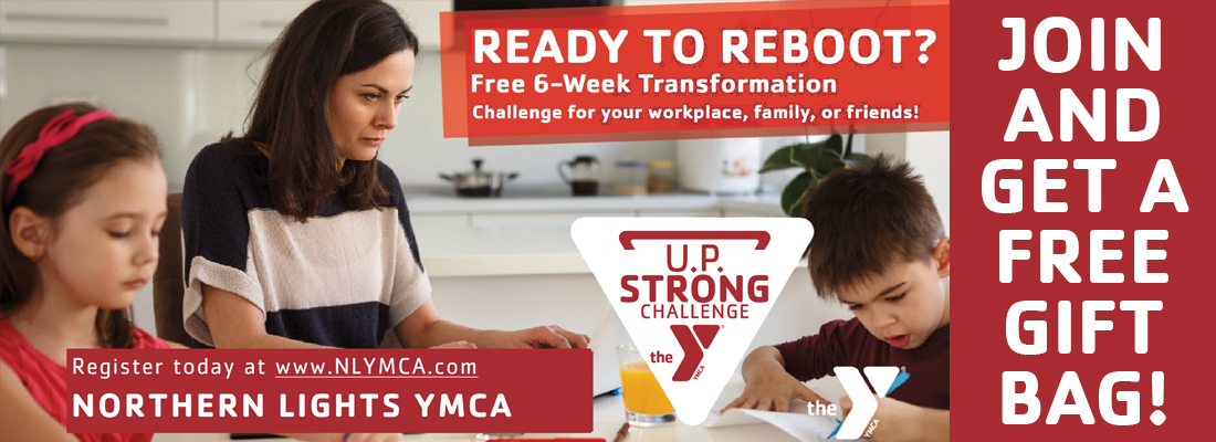 UP strong website banner