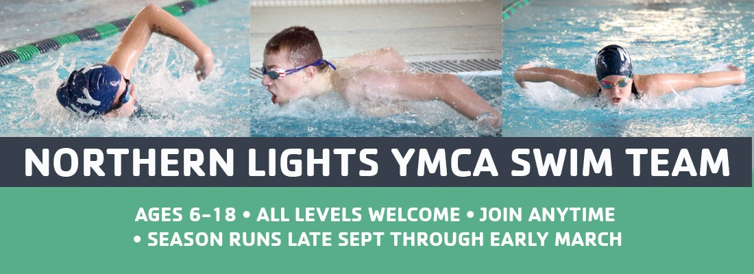 NLYMCA swim team promo